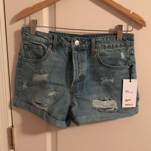 ripped jeans shorts from Forever 21 (size 25)
